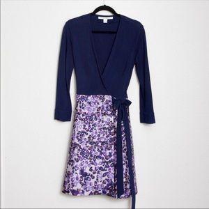 Diane Von Furstenberg DVF Amelia Wrap Dress 8